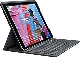 Logitech Slim Folio Integrated Keyboard Case with Bluetooth for iPad 7th Gen & 8th Gen-10.2 Inch (25.9 cm) (Model: A2197,A2198 & A2200)
