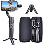 hohem iSteady Mobile Plus 3 Axis Handheld Smartphone Gimbal Stabilizer for iPhones, Android Phones Featuring Video Stabilizer with Inspection Mode, Sport Mode, Face Object Tracking, Motion Time-Lapse