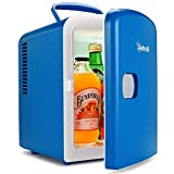 AstroAI 4L Mini Refrigerator (Blue)