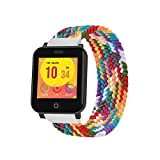 GOQii Smart Vital Junior Fitness, Spo2, Body Temperature and Sleep Tracker with 3 Months Personal Coaching Subscription for Kids (Rainbow)