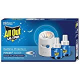 All Out Ultra Mosquito Repellant Combi Pack (Machine + 2 Refills)   Kills Dengue mosquitoes