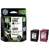 HP 680 2-Pack Black/Tri-Color Ink