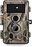 Meidase 16MP 1080P, Game Camera with No Glow Night Vision Up to 65ft, 0.2s Trigger Time Motion Activated, 2.4 Inch Color Screen and Unique Keypad, Waterproof Wildlife Hunting Trail LCD Camera