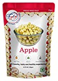 FZYEZY Freeze Dried Apple Fruit for Kids and Adults | Camping Vegan Snacks Dried Healthy Fruit Smoothie | Freeze-Dried Survival Food | Pantry Groceries dehydrated Fruit | 20 gm