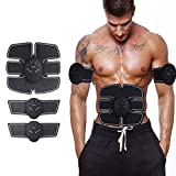 ZOSOE 6 pack abs stimulator/Wireless Abdominal and Muscle Exerciser Training Device Body Massager/6 pack abs stimulator charging battery/mart Fitness Abs Maker/Exerciser Training Device Massager