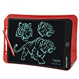 PEATOP® Portable Ruff 12 inches LCD Paperless Memo Digital Tablet Notepad E-Writer/Writing/Drawing Pad (RED)