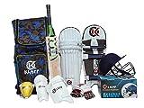 Klapp Champion Cotton and PVC Cricket Kit Set (Junior, Multicolour)