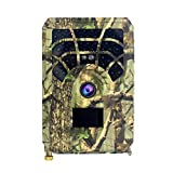 Digital Trail Camera 12MP HD Hunting & Trail Camera Motion Activated Night Infrared Vision Waterproof 46pcs IR Lights for Outdoor Wild Hunting Home Security Animal Observation Game