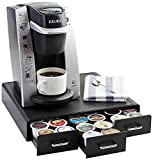 AmazonBasics Coffee Pod Storage Drawer for K-Cup Pods - 36 Pod Capacity