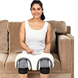 JSB HF156 Wireless Knee Joint Massager for Arthritis, Arms, Calf & Foot Pain Relief (Rechargeable Battery Powered) (White)