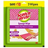 Scotch-Brite Multi-purpose , Easy to use kitchen cleaning Sponge Wipe (3 -Pieces)