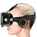 Procus PRO (Black) Virtual Reality Headset - 100-120 Degree FOV with Highest Immersive Experience - Inbuilt Headphones