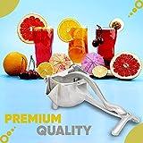 ICE TECH Aliist Hand Juicer | Fruit Juicer | Manual Juicer |Fruit Press| Instant Fruit Juicer| Handhold Press Fruit Squeezer for Orange, Lemon and other Fruits