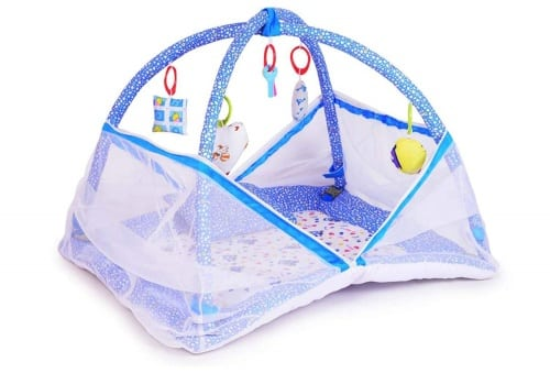 DearJoy Baby Kick and Play Gym and Baby Bedding Set