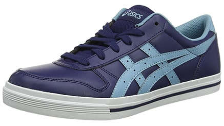 asics tiger men's leather sneakers