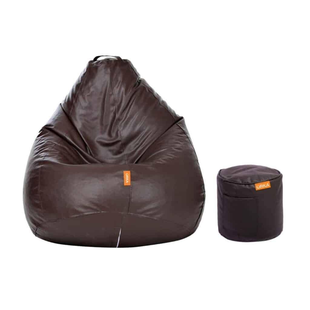 ORKA Classic XXL with Footstool Bean Bag