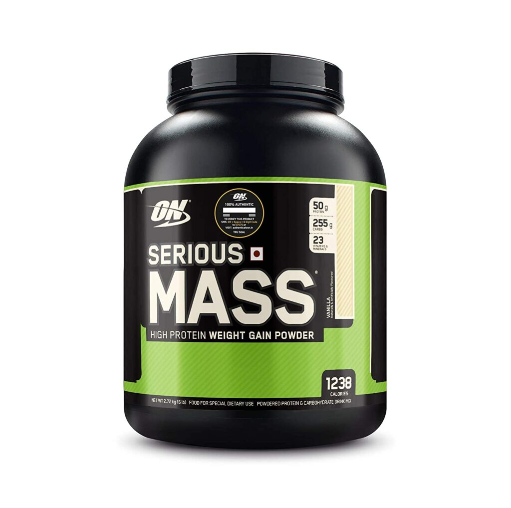 Optimum Nutrition (ON) Serious Mass High Protein
