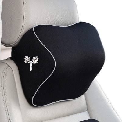 Grin Health Memory Foam Neck Support for Car Seat
